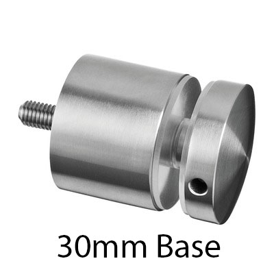 316 Stainless Steel Glass Adapter | PS Glass Fittings
