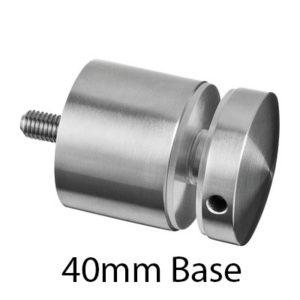 Glass adapter - round
