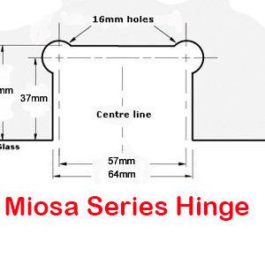 Miosa Series Hinge