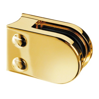 Model 22 Curved Base Brass Balustrade Clamp Ps Glass